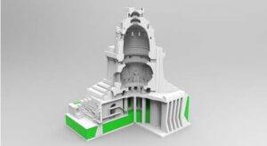 Völkerschlachtdenkmal aus dem 3D-Drucker
