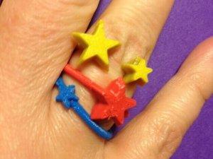 Weihnachtliche Ringe aus dem 3D-Drucker