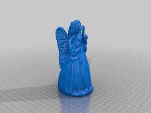 Weihnachtsengel als 3D-Modell