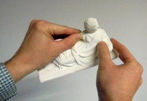 Tastmodell aus dem 3D-Drucker
