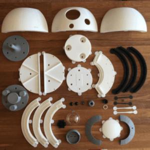 BB8-Droide Einzelteile