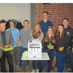 Schüler des Joseph-Haydn-Gymnasium und 3D-Drucker