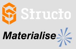 Logo von Structo und Materialise