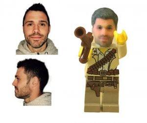 Personalisierte Lego-Figur