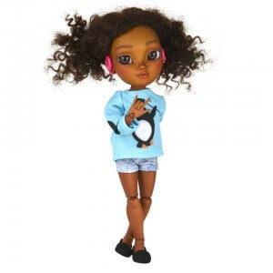 Puppe mit Behinderung