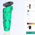 Rasierer aus dem 3D-Drucker