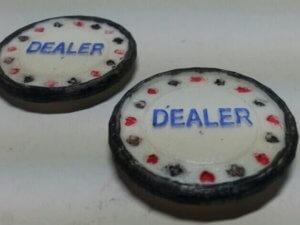 Dealer-Button aus dem 3D-Drucker