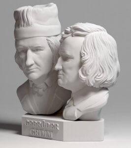 Gebrüder Grimm aus dem 3D-Drucker