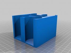Poker-Kartenhalter CAD