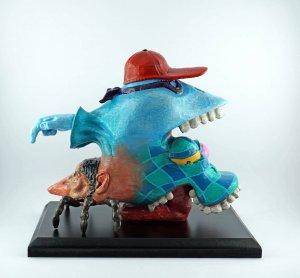 Kunstobjekt aus 3D-Drucker