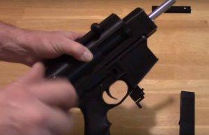 Maschinenpistole aus dem 3D-Drucker
