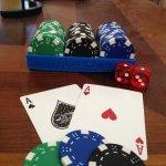 Pokerchips-Halter