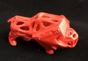 Ein 3D-Objekt aus Keramik