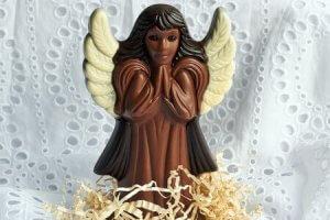 Schokoladenfigur aus 3D-Drucker