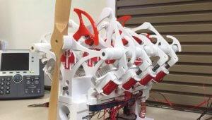 V8-Motor aus dem 3D-Drucker