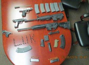 Waffen und Teile aus dem 3D-Drucker