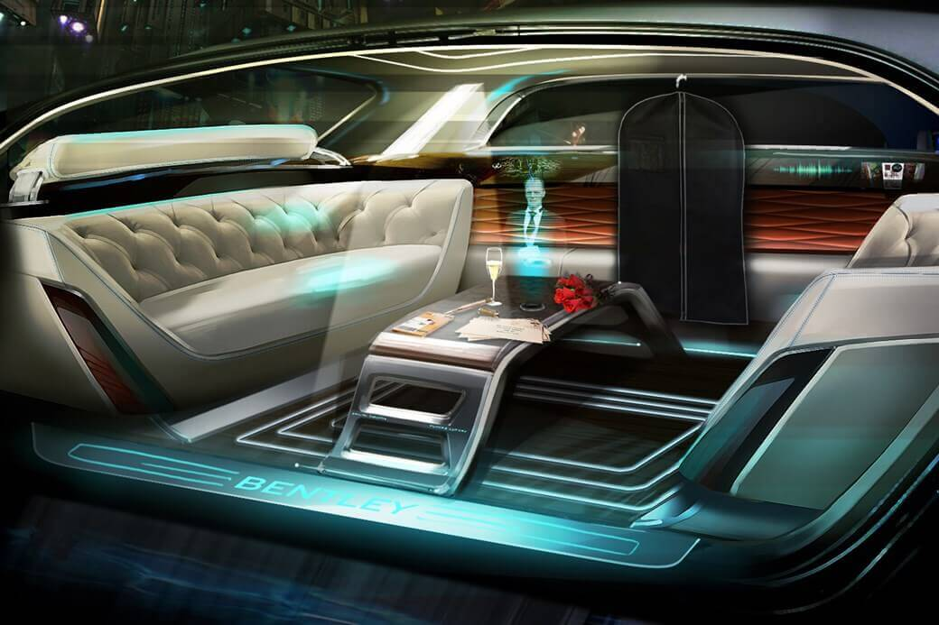 "Bentley ""Speed 6"" mit Interior aus dem 3D-Drucker (Bild © carmagazine.co.uk)"