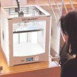 3D-Drucker in der Stadtbibliothek Verden