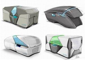 3D-Drucker Design