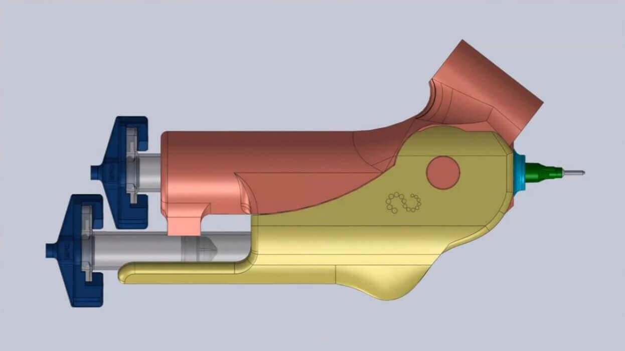 Aufbau des BioPen (Bild © media.uow.edu.au/).
