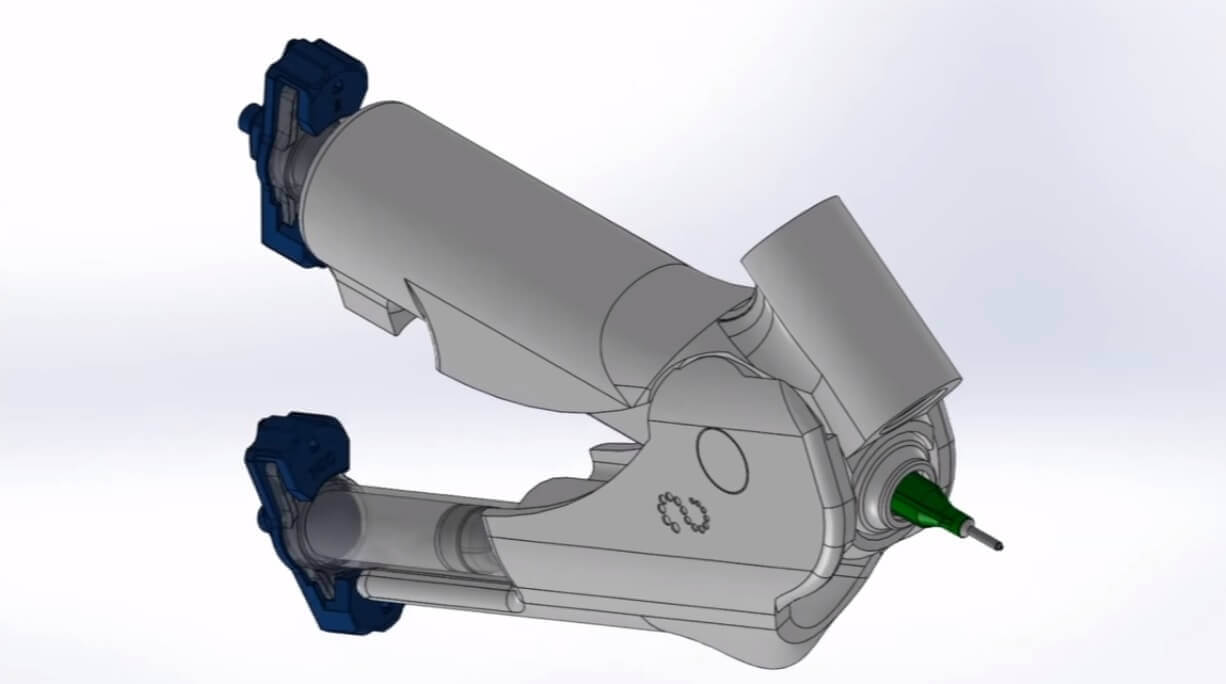 Visualisierung des BioPen (Bild © media.uow.edu.au/).