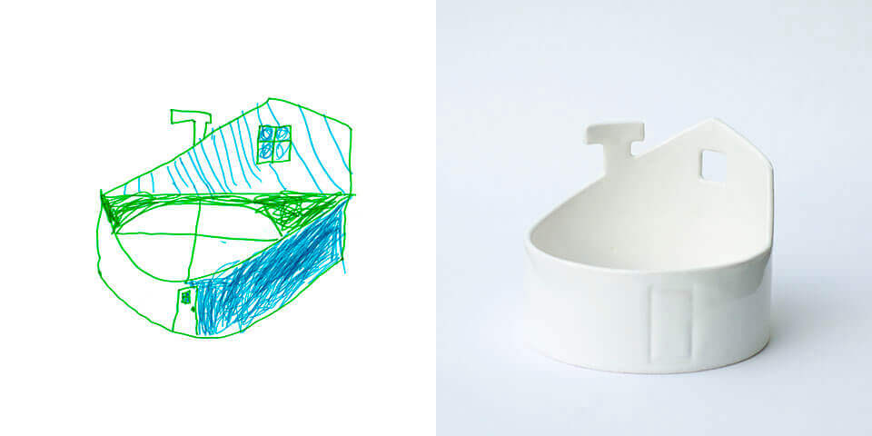 Selbst entworfen und gebaut: Spaghetti-Teller (Bild © chil-dish.fi).