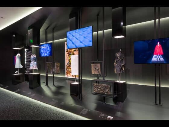 Kunst, Mode, Technologie: Kleider aus dem 3D-Drucker auf der Techstyle in Boston (Bild © mfa.org).