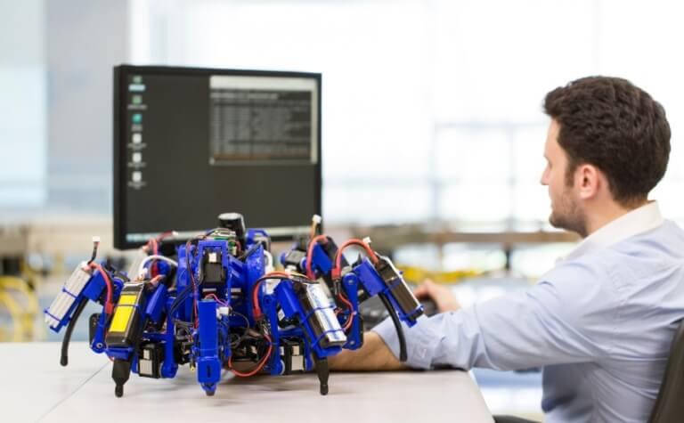 """""""SiSpis"""" Spinnenroboter von Siemens"""