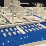 Stadt aus 3D-Drucker