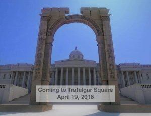 Triumphbogen von Palmyra aus dem 3D-Drucker