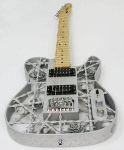 Gitarre aus dem 3D-Drucker
