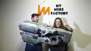 BFG-Waffe aus Doom