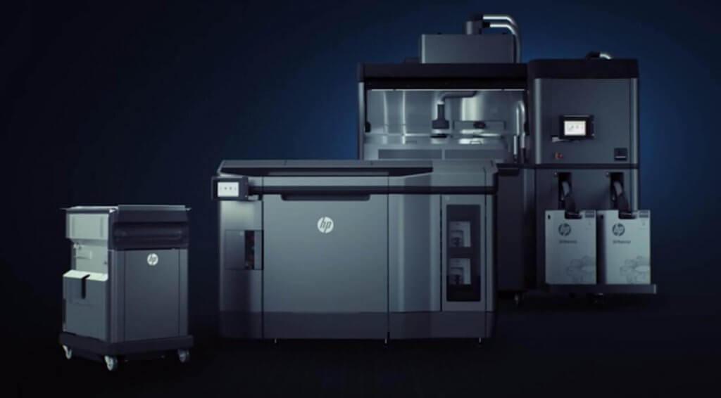 Hewlett Packard 3D-Drucker