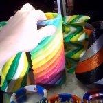 Rostock Max V2 als 3D-Farbdrucker