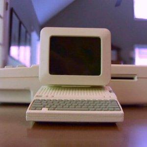 Apple Mac aus einem 3D-Drucker