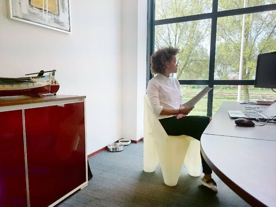 Stuhl aus dem 3D-Drucker (Bild © Leapfrog).