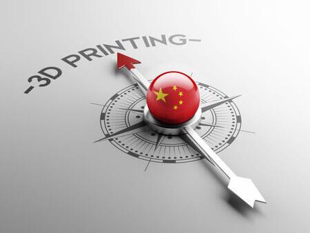 Wettbewerb mit China in 3D