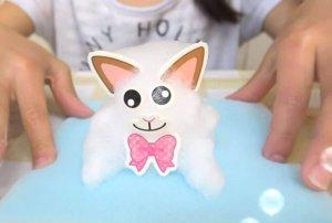 Schaumfigur Katze