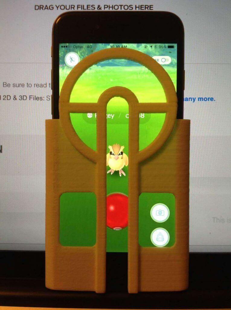 Zielhilfe für Pokémon Go