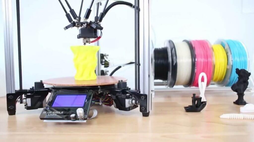 Metal Delta 3D-Drucker