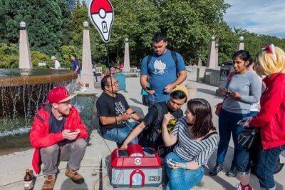 Pokémon Go Ladegerät