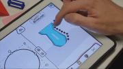 Zeichnung am Tablet bearbeiten