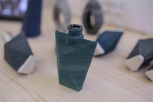 Flasche Parfüm aus 3D-Drucker