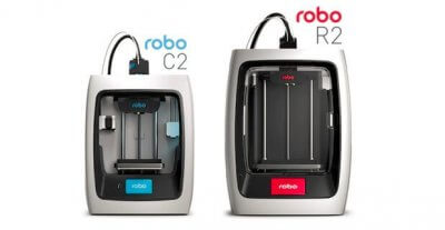 Robo C2 und Robo R2 3D-Drucker