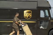 UPS-Fahrzeug