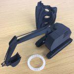 Bagger aus 3D-Drucker