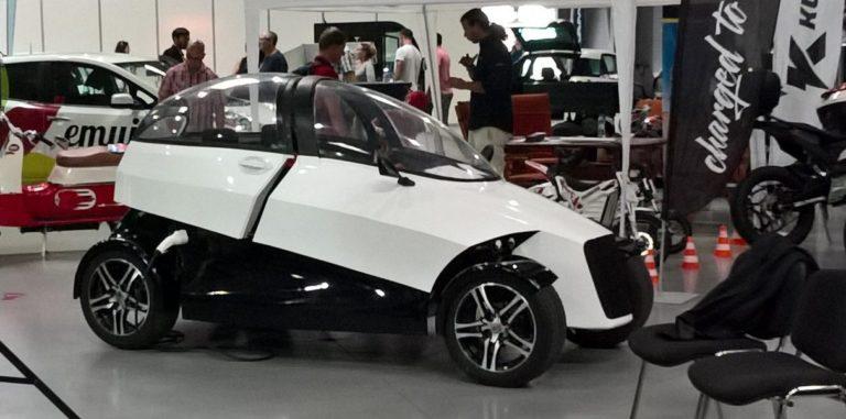 Tschechisches Elektroauto aus dem 3D-Drucker.