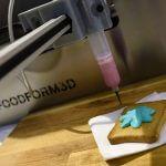 Essen aus dem 3D-Drucker.