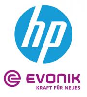 Logo Evonik und HP