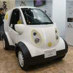 Elektroauto Honda Micro aus dem 3D-Drucker.